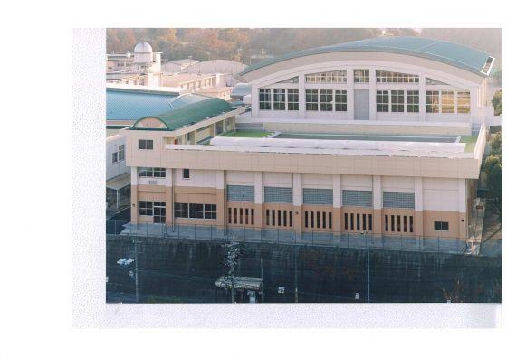 小倉高等学校プール棟